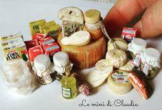 "851 Likes, 4 Comments - Le Mini Di Claudia (@leminidiclaudia) on Instagram: ""#dollshouseminiatures #leminidiclaudia #dollhouseminiature #miniaturefood"""