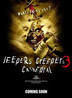 'Third time's the charm' Jeepers Creepers 3 is a 2017 horror feature film written and directed by Victor Salva (Dark House; Jeepers Creepers and sequel; Best Horror Movies, Horror Movie Posters, Horror Films, Scary Movies, Horror Art, Recurring Nightmares, Recurring Dreams, Jeepers Creepers 3, World Movies