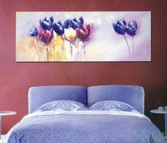 Amazon.com - Modern Abstract Art Oil Painting STRETCHED READY TO HANG OPB823 - Asian Paintings Ready To Hang