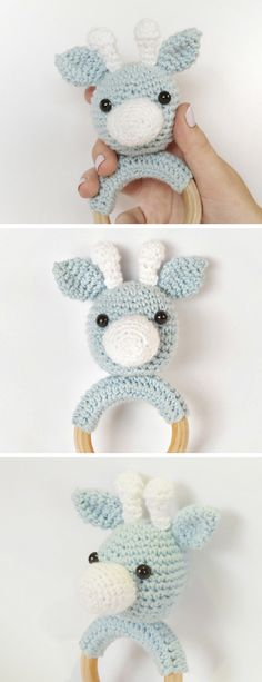 Crochet Books, Diy Crochet, Crochet Baby, Diy And Crafts, Crafts For Kids, Wooden Baby Toys, Diy Baby, Sewing Crafts, Needlework