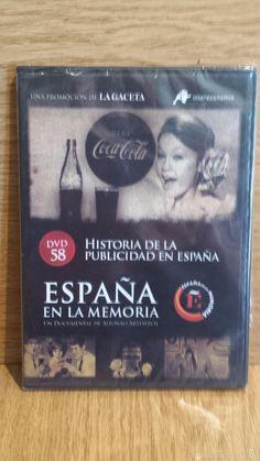 ESPAÑA EN LA MEMORIA - 58 - HISTORIA DE LA PUBLICIDAD: MARISOL, COCA COLA, COLACAO, ETC / PRECINTADO