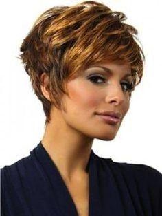 resultado de imagen para cortes de cabello corto para mujeres cara redonda pelo