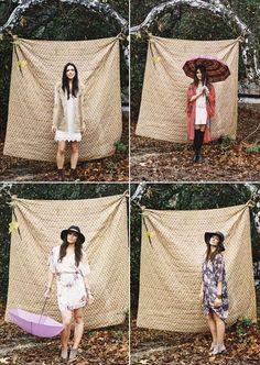 Un photobooth pour l'enterrement de vie de jeune fille. A photobooth for bridal shower ! #b4wedding #mariage #wedding #nature #boho #evjf #bachelorette
