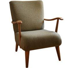 Mid Century Armchair in Wool £450