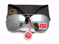 My favorite pair of aviators, Ray-Ban.