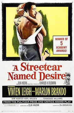 A Streetcar Named Desire - 1951 - Movie Poster #1