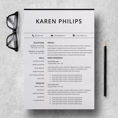 Resume Layout Microsoft Word Resume Template Microsoft Word  Professional Cv Layout  Marketing .
