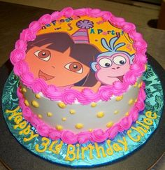 dora and boots cake | BirthdayCakes2