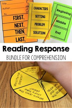 My resource includes both fiction and nonfiction reading response packs that were created for first grade, second grade, and third grade students! The purpose of this resource is to build students comprehension skills in a fun and engaging way! They are perfect for whole group, small group, and even independent work. #annabrantleysteachingresource #readingcomprehension #firstgrade #secondgrade Reading Response Activities, Guided Reading Groups, Teaching Activities, Reading Comprehension, Teaching Resources, Teaching Ideas, Teacher Lesson Plans, Primary Teaching, Literacy Stations