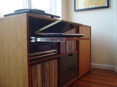 plyboo LP Vinyl storage console