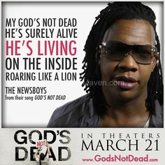 Gods Not Dead-The one movie you MUST see this spring. Appropriate for ages 10+
