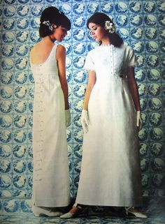 colleen corby 1966 | Graduation Dresses ~ Seventeen 1960 & 1966