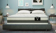 "VERITAS VH3000 13"" Plush Hybrid Mattresses | The Dump Luxe Furniture Outlet Luxury Furniture Brands, Surface Area, Furniture Outlet, Mattresses, Material Design, California King, Comfortable Fashion, King Size, Plush"