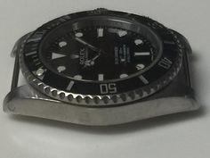 Modified Rolex No Date Submariner.  Drilled lugs and permanent press fit bar for NATO style Strap