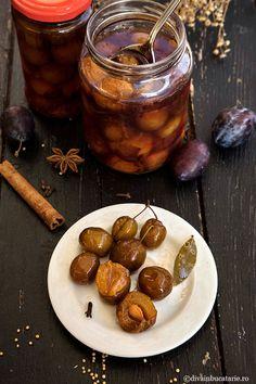 Pickles, Salsa, Almond, Stuffed Mushrooms, Canning, Vegetables, Food, Preserves, Stuff Mushrooms