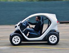 Elétricos Renault Twizy e Fluence Z.E. podem vir em 2013 se imposto baixar