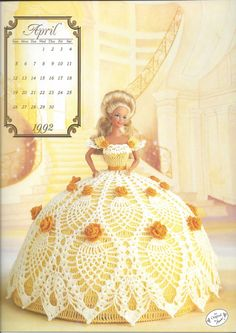 The Cotillion Collection Annies Calendar by KnitKnacksCreations