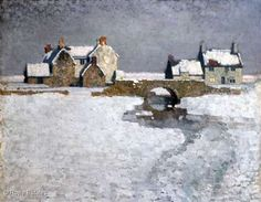 farm houses winter scenes | Stanley Royle Painting Gallery Snow Scenes, Winter Scenes, Pictures At An Exhibition, Irish Art, Landscape Paintings, Landscapes, Painting Gallery, Traditional Paintings, Winter Art