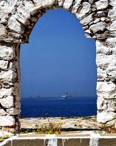 ~ View of the Aegean - Paros Island ~