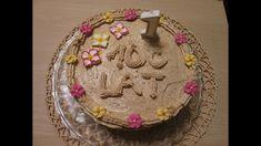 Tort makowy z masą kawową - tradycyjny