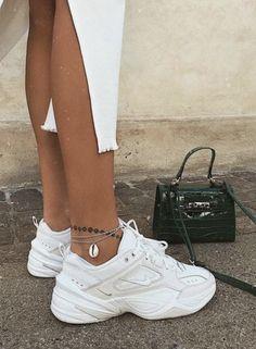 Nike Shoes OFF! ►► Nike Tekno W trending street style sneakers for teen girls Sneakers Street Style, Sneakers Mode, Dress With Sneakers, Sneakers Fashion, Fashion Shoes, Shoes Sneakers, Fashion Outfits, Chunky Sneakers, Girls Sneakers