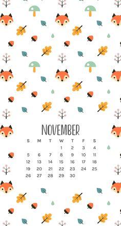 Fall inspired November phone wallpapers (part 2)