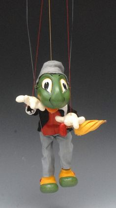 Bamfords : SL Jimmy Cricket - Pelham Puppets SL Range, moulded : Online Auction Catalogue