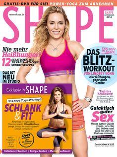 Die neue SHAPE ist da! Dieses Mal mit der neuen Schlank-&-Fit-Workout-DVD von Jillian Michaels!  Noch mehr Trainings-Tipps von Jillian Michaels gibt's HIER:  http://www.shape.de/fitness/workout/a-60996/jillian-michaels-workout-teil-2.html