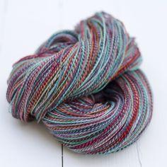 Image of handspun yarn - 'holiday' - sw merino. very nice! Spinning Yarn, Hand Spinning, Yarns, Dreams, Couture, Knitting, Nice, Holiday, Image