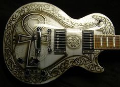 Gorgeous Celtic Custom Guitar