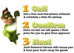 Junk Removal Heroes ~ Local Trash Hauling |