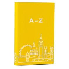 UNDERCOVER Selfridges pantone 109 London A-Z address book