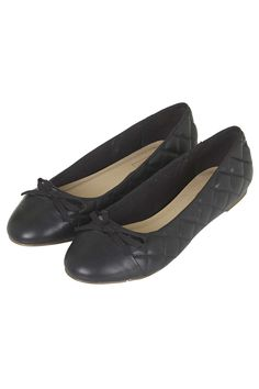 VIN Quilted Ballet Shoes - Flats - Shoes - Topshop Europe
