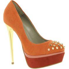 Need a bit of orange spike in my life!!