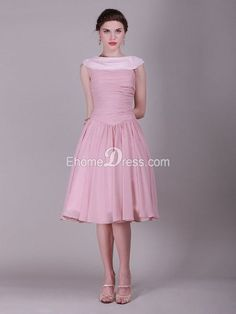 Junior bridesmaids differ in age, stature. It is a hard choice to make when choosing their apparels. Now EhomeDress is offering 69% off on all its A-line junior bridesmaid dresses, More than 20 colors and 10+ sizes are there for you to choose from. No matter if you are on a budget or not, you can choose gorgeous junior bridesmaid gowns for your beautiful girls. http://www.ehomedress.com/10041-chiffon-a-line-bateau-bridesmaid-dress-with-pleated-tpbd10041.html