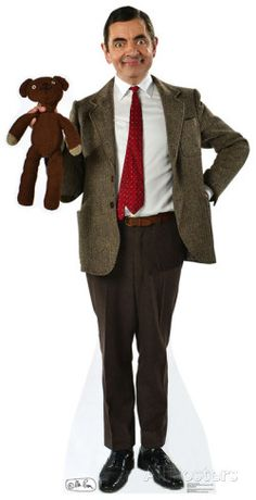 Mr. Bean And Teddy Cardboard Cutouts at AllPosters.com