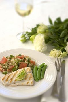 Snapper with Pink Grapefruit