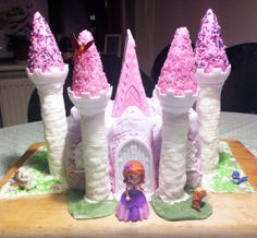 castle cake - sofie the first - Hybridablog