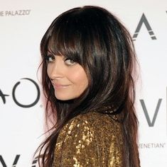 My next 'do? Medium chocolate brown with dark brown/black lowlights and bangs - hair-sublime.com