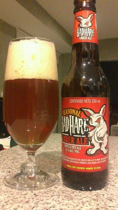 Bad Hare,  seasonal amber ale