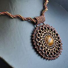 IZZILAND: bead embroidery