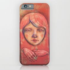 The Ghost in Pink iPhone & iPod Case