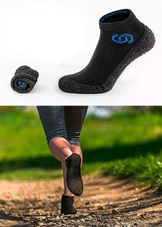 Blurring the line between socks and shoes, Skinners are ultraportable minimalist footwear for sport, yoga, travel, or just chilling. They provide the comfortable freedom of a barefoot feel but offer the sort of all-terrain protection & traction you get from shoes. Silver is woven into Skinners for odor prevention.