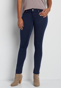 DenimFlex™ jegging in blue jasmine (original price, $34.00) available at #Maurices