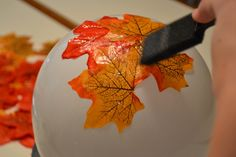 This Autumn Leaf Bowl Craft is super easy and the results are seriously stunning. Be sure to watch the short video tutorial too.