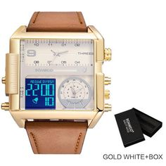 Sports Watches is our top ten list on AliExpress. Let's learn a little about Sports Watches. Which of the Sports Watches list is for you? You can click the links below to find out the current prices of the products and to order immediately. Vintage Watches For Men, Best Watches For Men, Luxury Watches For Men, Big Watches, Cool Watches, Led Watch, Mens Sport Watches, Big Men Fashion, Fashion Tips