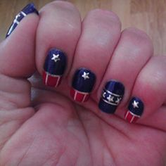 Fourth of July Flag Nail Art Celebration! | Cult Cosmetics