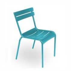Turquoise chair...I want them in the Parisian green!!