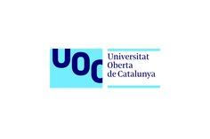 Universitat Oberta de Catalunya by Mucho. #branding #logo