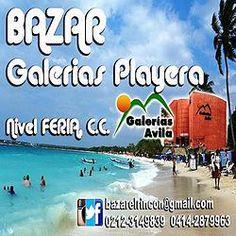Bazar Galerías Playeras